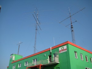 DA0HQ 2013 40m CW at DL1A: View of all antennas
