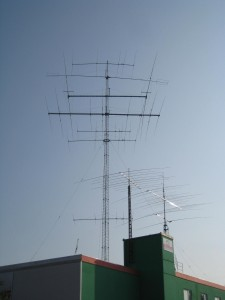 DA0HQ 2013 40m CW at DL1A: Antennas